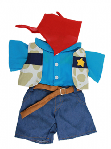 Cowboy outfit - 8""